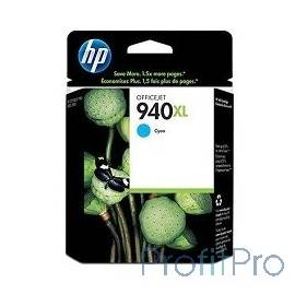 HP C4907AE Картридж №940XL, Cyan Officejet Pro 8000/8500, Cyan (16ml)