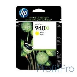 HP C4909AE Картридж №940XL, Yellow Officejet Pro 8000/8500, Yellow (16ml)