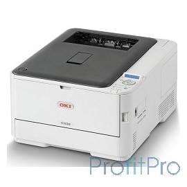 Oki C332dn 46403102 лазерный, печать цветная, максимальный формат А4, скорость ч/б печати 26 стр/мин, разъемы и средства связи: