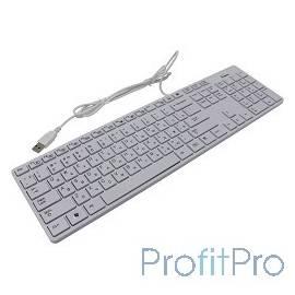 Клавиатура проводная SmartBuy SBK-204US-W White USB