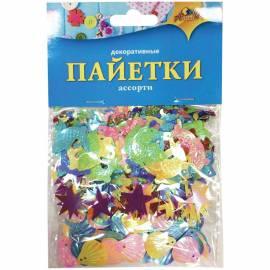 "Материал декоративный Апплика ""Пайетки"", 3 вида"
