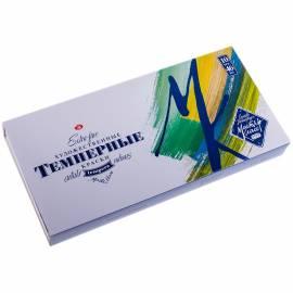 Краски темперные Мастер-Класс, 10 цветов, 46мл/туба, картон