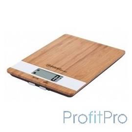 Весы кухонные FIRST FA-6410 Special Edition, бамбук.платф., электр., 5 кг, 1 гр, тарокомпенсация