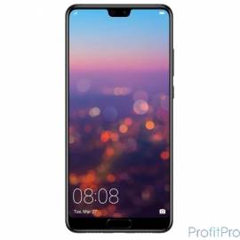 "Huawei P 20 Черный EML-L29 128GB 5.8""/2240x1080/HiSilicon Kirin 970/128Gb/4Gb/3G/4G/20MP/2MP+ 24MP/Android 8.1"