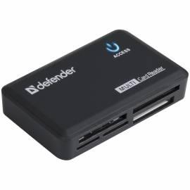 Картридер Defender Ultra Optimus USB 2.0, 5 слотов