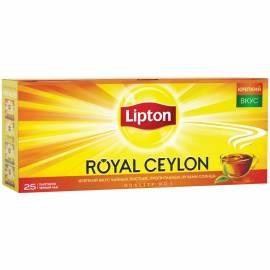"""Чай Lipton """"Royal Ceylon"""", черный, 25 пакетиков по 2г"""