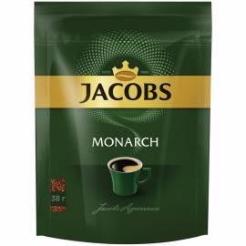 """Кофе растворимый Jacobs """"Monarch"""", сублимированный, мягкая упаковка, 38г"""