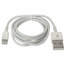 Кабель Defender ACH01-03H USB(AM) - Lightning(M), для Apple, 1м, белый