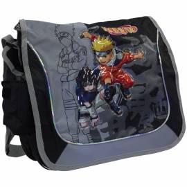 """Сумка """"Naruto"""" 35*30см, 1 отделение, 1 карман, черный"""