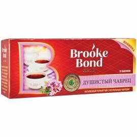 """Чай Brooke Bond """"Душистый чабрец"""", черный, 25 пакетиков по 1,5г"""