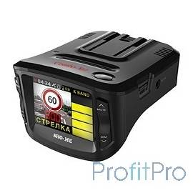 "Видеорегистратор с камерой Sho-Me Combo №1 Signature 2.31"",1920x1080,130°,128 Мб,датчик удара (G-сенсор), GPS"