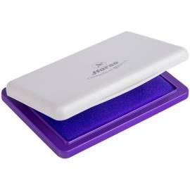Штемпельная подушка Horse, 85*55мм, фиолетовая, пластиковая