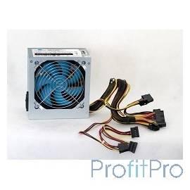 PowerCool (PC500-120-O) Блок питания ATX 500W PowerCool 120mm (SCP)\(OVP)\(OCP)\24+8\+4 20+4 pin, ATX 12V v.2.3 OEM