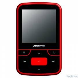 "Плеер Flash Digma T3 8Gb черный/красный/1.5""/FM/microSD [489487]"