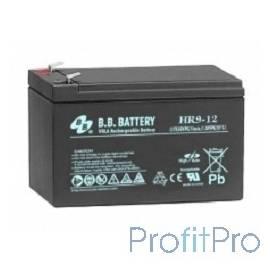 B.B. Battery Аккумулятор HR 9-12 (12V 8Ah)
