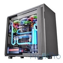 Case Tt Suppressor F31 TG [CA-1E3-00M1WN-03] ATX/ win/ black/ USB 3.0/ no PSU