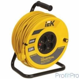 "Iek WKP15-16-04-30 Катушка УК30 с т/з 4 места 2 Р + P Е /30м 3х1,5 мм2 ""Industrial"""
