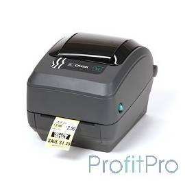 Zebra GK420t [GK42-102220-000] Черный TT Printer , 203 dpi, Euro and UK cord, EPL, ZPLII, USB, Ethernet