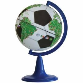 """Глобус """"Футбольный мяч"""" Глобусный мир, 15см, на круглой подставке"""