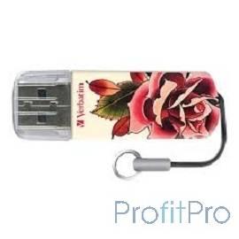 Verbatim USB Drive 32Gb Mini Tattoo Edition Rose 49896 USB2.0
