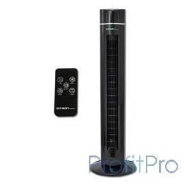 Вентилятор напольный FIRST FA-5560-2 Black Мощность 60 Вт.Пульт дистанционного управления Black