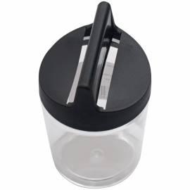 Скрепочница магнитная Стамм, черная, без скрепок