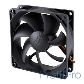 Вентилятор для корпуса Glacialtech GT-9225 BDLA1 Ballbearing 90x90x25 3 pin + 4 pin (molex) 24dB 90g BULK CF-9225SBD0AB0031