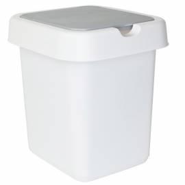 """Контейнер для мусора Svip """"Квадра"""", 9л, пластик, белый"""