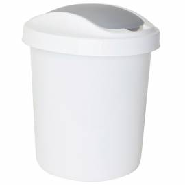 """Контейнер для мусора Svip """"Ориджинал"""", 12л, пластик, белый"""