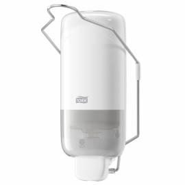 """Диспенсер для жидкого мыла Tork """"Elevation""""(S1), пластик, с локтевым приводом, белый, 1л"""