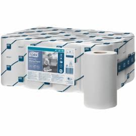 """Протирочная бумага в рулонах Tork """"Reflex"""", (М3) мини рулон, съемная втулка, 120м, тиснение, белый"""