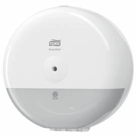 """Диспенсер для туалетной бумаги в мини-рулонах Tork """"Elevation SmartOne"""", пластик, механич., белый"""