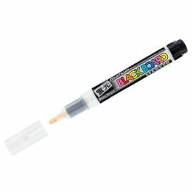 "Маркер меловой MunHwa ""Black Board Marker"" белый, 3мм, водная основа"