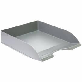 """Лоток для бумаг горизонтальный Стамм """"Дельта"""", серый"""