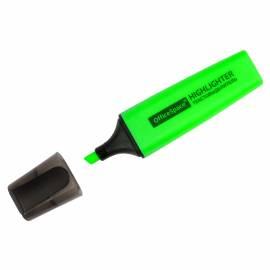 Текстовыделитель OfficeSpace зеленый, 1-5мм