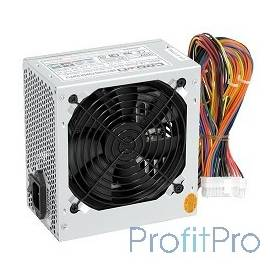CROWN Блок питания CM-PS400W PLUS(20+4in, 120mm FAN, SATA*2, PATA(big Molex)*4, FDD*1, 4+4pin, Lines 1x12V OEM)