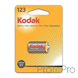 Kodak CR123(A) [ K123LA] (6/12/9000) ULTRA