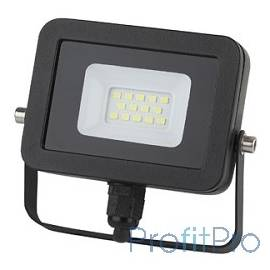 ЭРА Б0027784 Прожектор светодиодный LPR-10-2700К-М SMD Eco Slim 10W, 2700К, прозрачное стекло