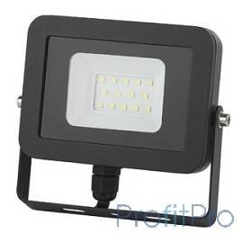 ЭРА Б0027789 Прожектор светодиодный LPR-20-6500К-М SMD Eco Slim 20W, 6500К, прозрачное стекло