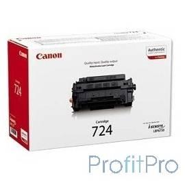 Canon Cartridge 724 3481B002 Тонер картридж Canon 724 для LBP6750Dn (6 000 стр)