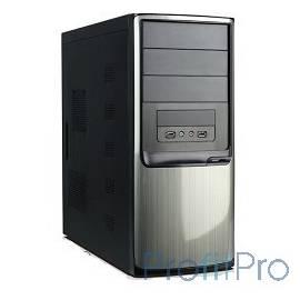MidiTower QoRi-3335 A11 (черно-серебр.) (450W) P4 USB/AU 24 Pin S-ATA (front panel metall)