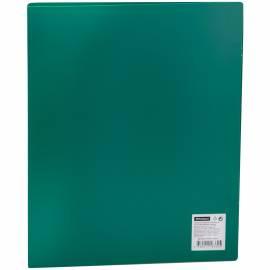 Папка на 2-х кольцах OfficeSpace, 25мм, 500мкм, зеленая