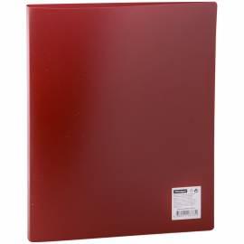 Папка на 2-х кольцах OfficeSpace, 25мм, 500мкм, красная