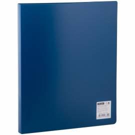 Папка на 2-х кольцах OfficeSpace, 25мм, 500мкм, синяя