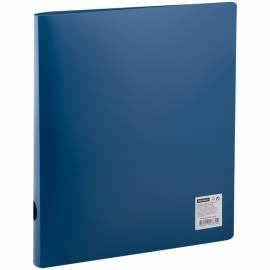 Папка на 2-х кольцах OfficeSpace, 40мм, 500мкм, синяя