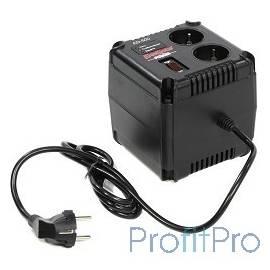 Exegate EP259011RUS Стабилизатор Exegate Power AD-500 (диапазон 160...260В, 2 розетки )