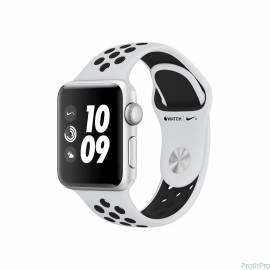 Apple Watch Nike+ Series 3 38mm Silver Aluminium with Nike Sport Band Pure Platinum/Black [MQKX2RU/A]