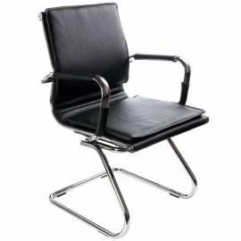 Конференц-кресло Бюрократ CH-993-Low-V/black искусственная кожа черная