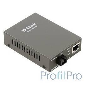 D-Link DMC-F20SC-BXU/A1A WDM медиаконвертер с 1 портом 10/100Base-TX и 1 портом 100Base-FX с разъемом SC (ТХ: 1310 нм RX: 1550