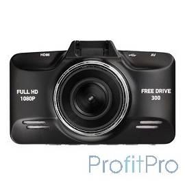Видеорегистратор Digma FreeDrive 300 Черный 3Mpix 1080x1920 1080p 140гр. GP2159